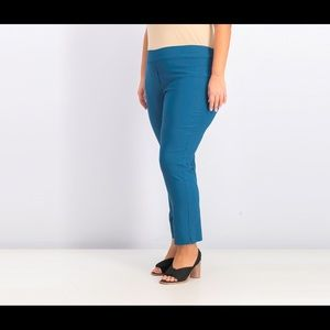 Erica Taylor stitch Fix Teal Pull on pants